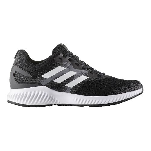 Womens adidas AeroBounce Running Shoe - Black/White 10