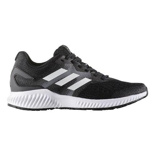 Womens adidas AeroBounce Running Shoe - Black/White 7