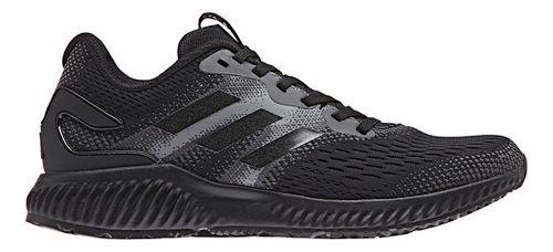 Womens adidas AeroBounce Running Shoe - Black/Black 11