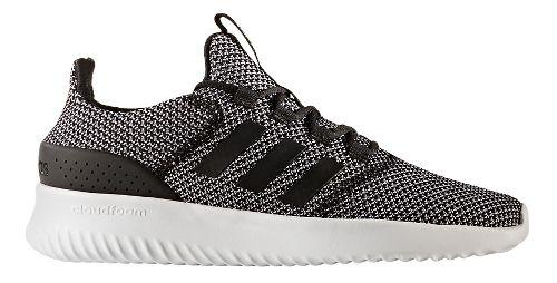 Mens adidas CloudFoam Ultimate Casual Shoe - Black/White 12.5