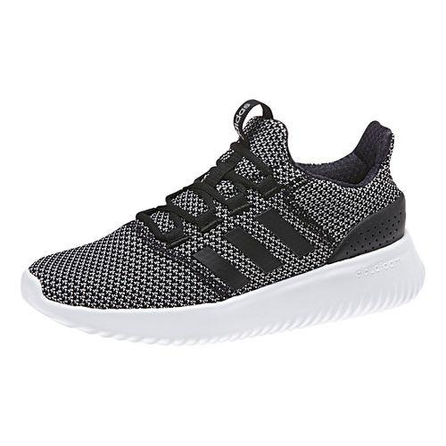 Womens adidas CloudFoam Ultimate Casual Shoe - Black/White 8.5