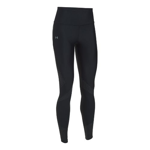 Womens Under Armour UA Accelerate Reflective Tights & Leggings Pants - Black XS