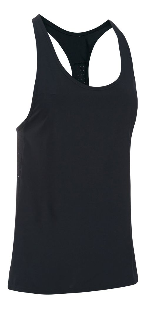 Womens Under Armour UA Accelerate Sleeveless & Tank Tops Technical Tops - Black XS