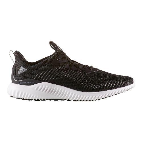 Mens adidas Alphabounce 1 Casual Shoe - Black/White 8