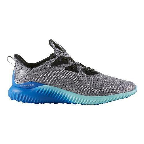 Mens adidas Alphabounce 1 Casual Shoe - Grey/Aqua 13