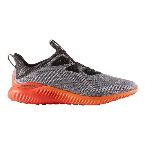 Mens adidas Alphabounce 1 Casual Shoe - Grey/Orange 8.5