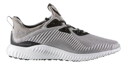 Mens adidas Alphabounce 1 Casual Shoe - Grey/White 8.5