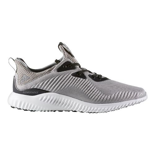 Mens adidas Alphabounce 1 Casual Shoe - Grey/White 15