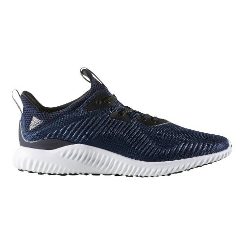 Mens adidas Alphabounce 1 Casual Shoe - Navy/White 10
