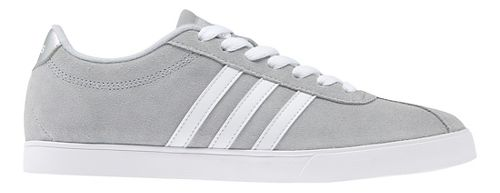 Womens adidas Courtset Casual Shoe - Grey Suede 8