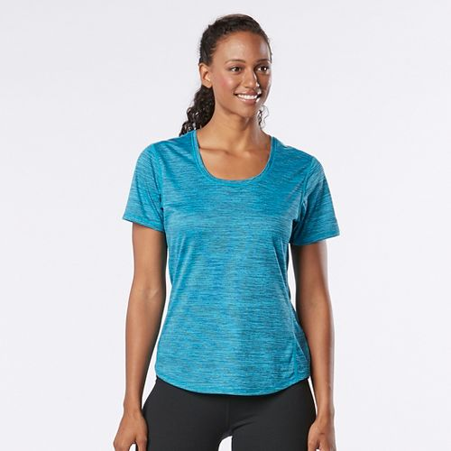 Womens R-Gear Training Day Short Sleeve Technical Tops - Marina/Midnight Blue L
