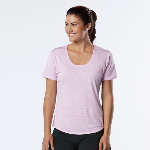 Womens R-Gear Training Day Short Sleeve Technical Tops - Lily/White M