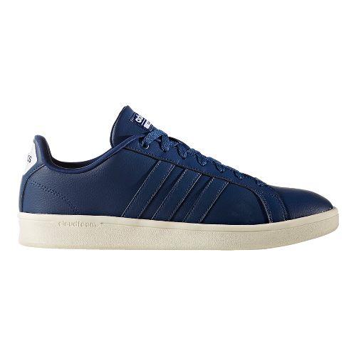 Mens adidas CloudFoam Advantage Stripe Casual Shoe - Mystery Blue 13