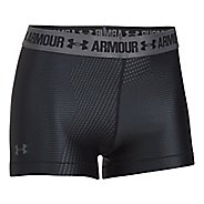 Womens Under Armour HeatGear Printed Shorty Unlined Shorts