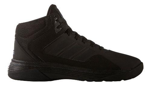 Mens adidas CloudFoam Ilation Mid Shoe - Black/Silver 10.5