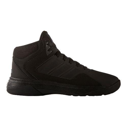 Mens adidas CloudFoam Ilation Mid Shoe - White/Black 11.5