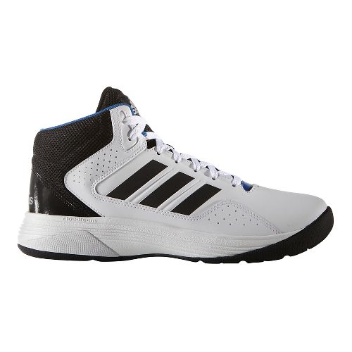 Mens adidas CloudFoam Ilation Mid Shoe - White/Black 11