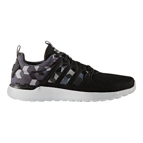 Mens adidas CloudFoam Lite Racer Casual Shoe - Core Black/Grey 10