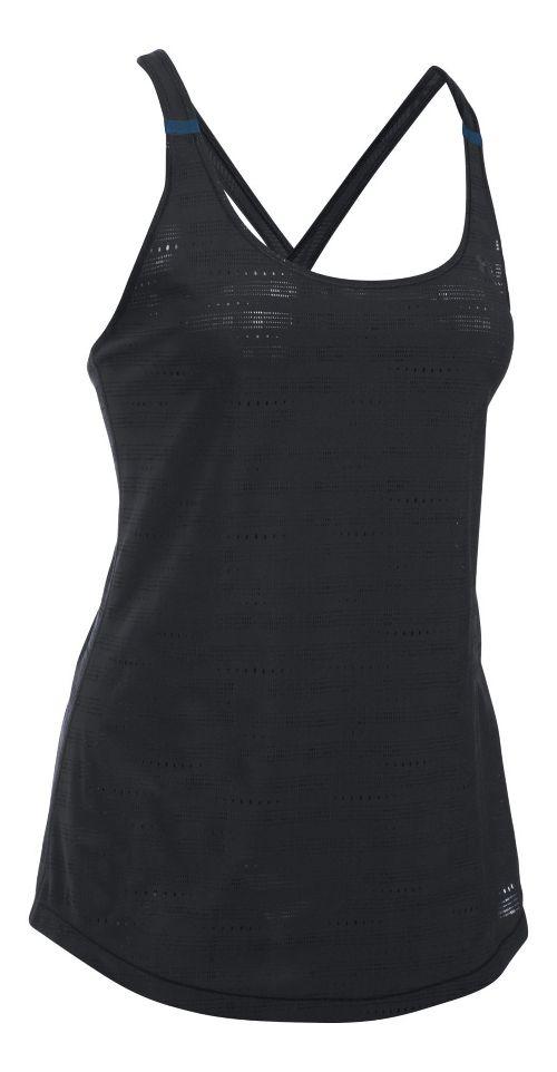 Womens Under Armour HeatGear Supervent Sleeveless & Tank Tops Technical Tops - White M