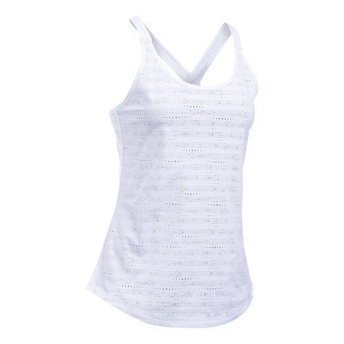 Womens Under Armour HeatGear Supervent Sleeveless & Tank Tops Technical Tops - White L