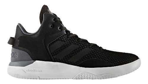 Mens adidas Cloudfoam Revival Mid Casual Shoe - Core Black 7