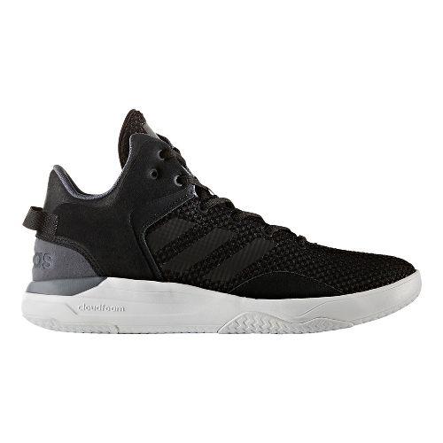 Mens adidas Cloudfoam Revival Mid Casual Shoe - Core Black 11