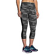 Womens Brooks Greenlight Printed Capri Pants