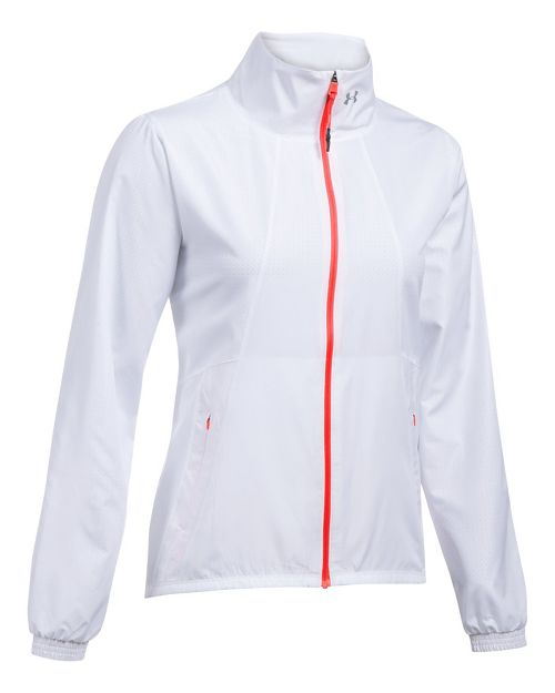 Womens Under Armour International Cold Weather Jackets - White S