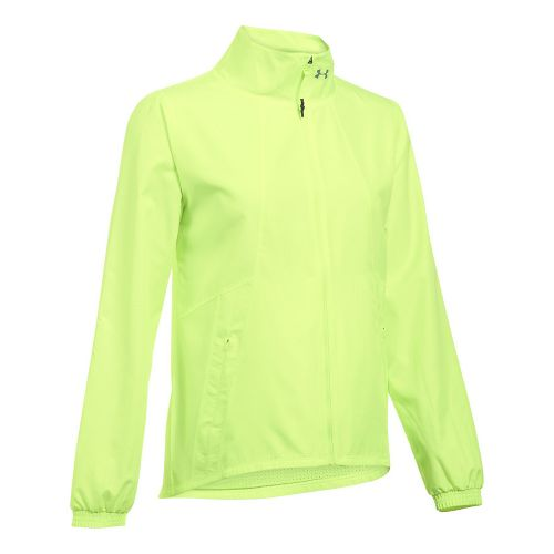 Womens Under Armour International Cold Weather Jackets - Pale Moonlight M