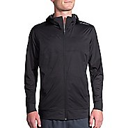Mens Brooks Hideout Running Jackets - Black L