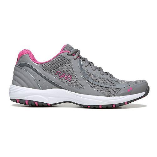 Womens Ryka Dash 3 Walking Shoe - Grey/Pink 8