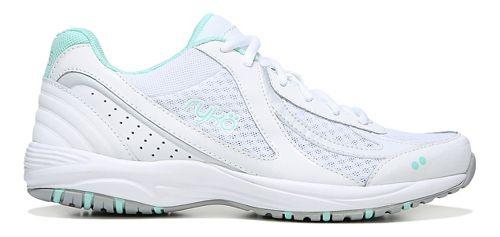 Womens Ryka Dash 3 Walking Shoe - White/Silver 9.5