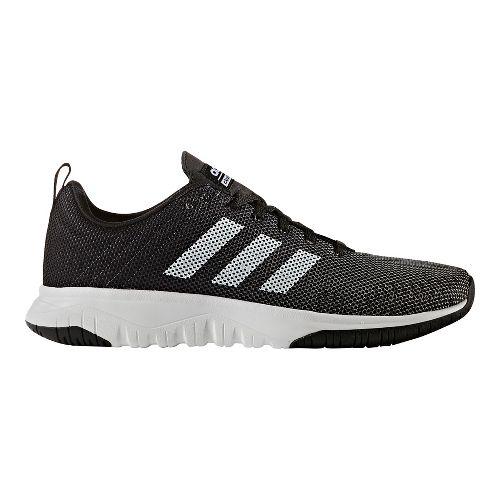 Mens adidas Cloudfoam Super Flex Casual Shoe - Core Black/White 11