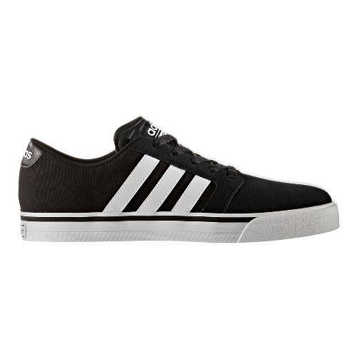 Mens adidas Cloudfoam Super Skate Casual Shoe - Core Black/White 11.5