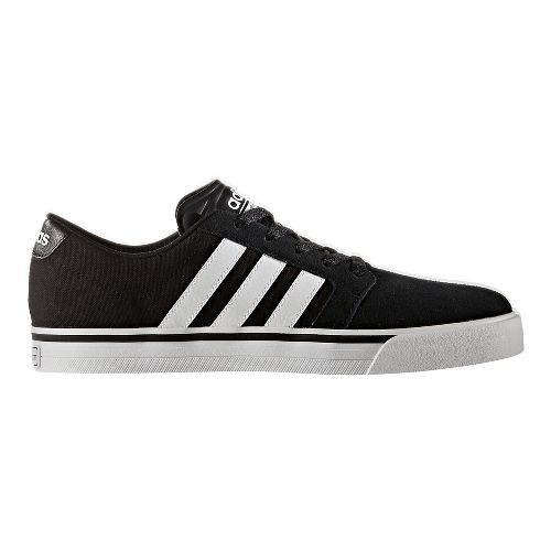 Mens adidas Cloudfoam Super Skate Casual Shoe - Core Black/White 9.5