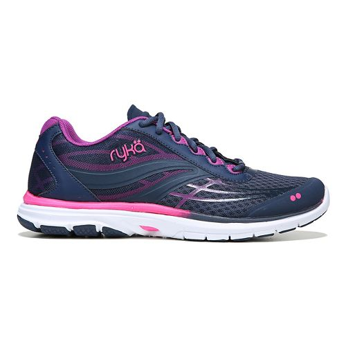 Womens Ryka Deliberate Cross Training Shoe - Navy/Pink 10.5