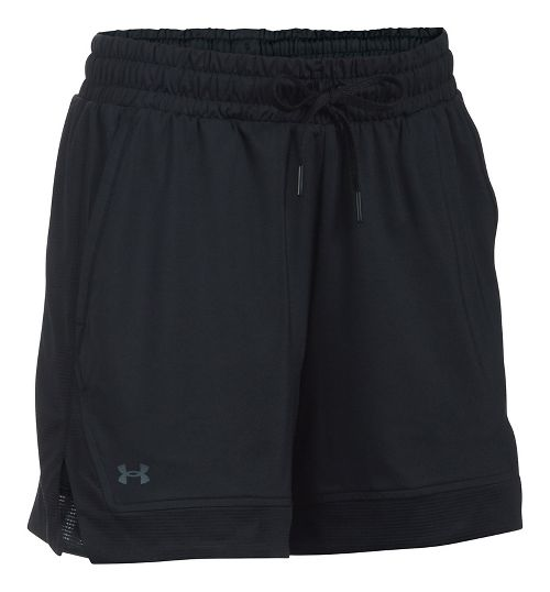 Womens Under Armour Sport Lined Shorts - Black M