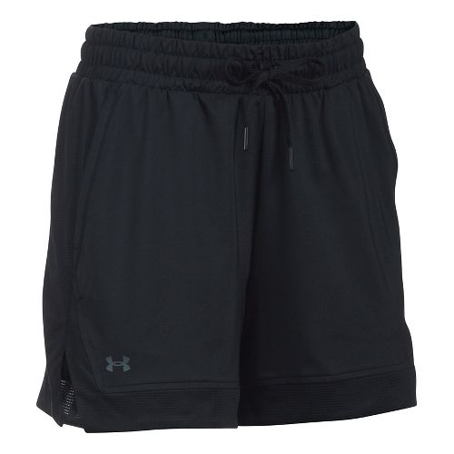 Womens Under Armour Sport Lined Shorts - Black XS