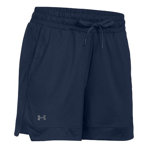 Womens Under Armour Sport Lined Shorts - Midnight Navy S