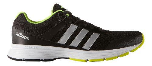 Mens adidas Cloudfoam VS City Casual Shoe - Black/Silver/Yellow 9