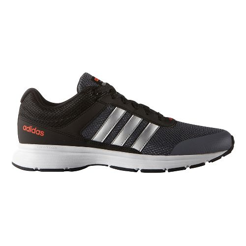 Mens adidas Cloudfoam VS City Casual Shoe - Black/Silver/Onyx 6.5