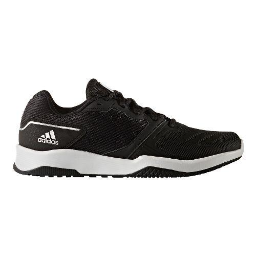 Mens adidas Gym Warrior 2 Cross Training Shoe - Black/Black 12.5