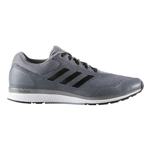Mens adidas Mana Bounce 2 Aramis Running Shoe - Grey/Core Black 8