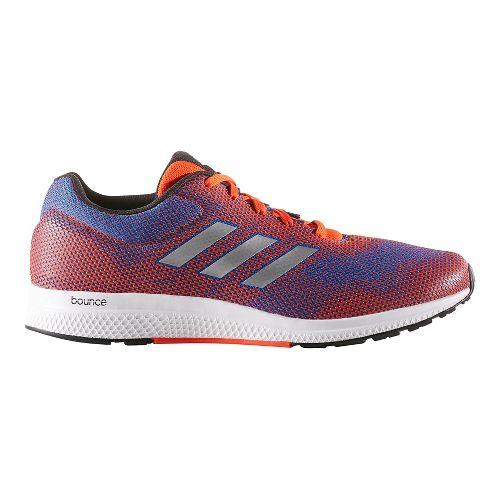 Mens adidas Mana Bounce 2 Aramis Running Shoe - Red/Blue 10.5