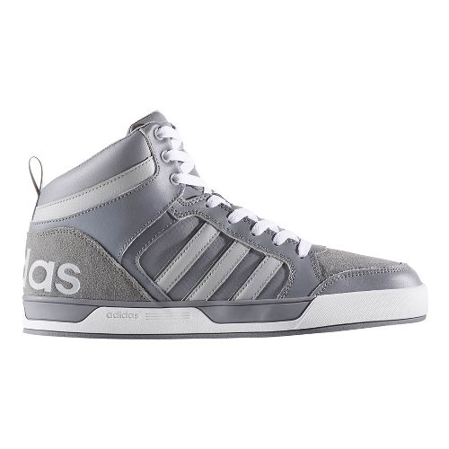 Mens adidas Raleigh 9TIS Mid Casual Shoe - Grey/Clear Onyx 9.5