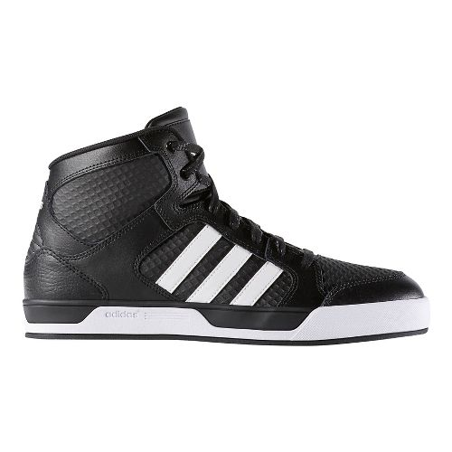 Mens adidas Raleigh Mid Casual Shoe - Black/White 7