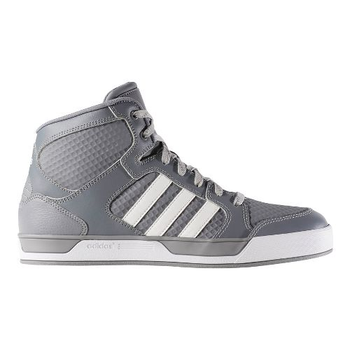 Mens adidas Raleigh Mid Casual Shoe - Grey/White 11.5