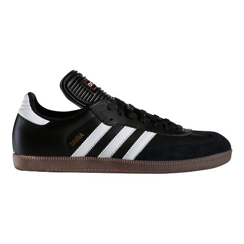 Mens adidas Samba Classic Casual Shoe - Black/White 8