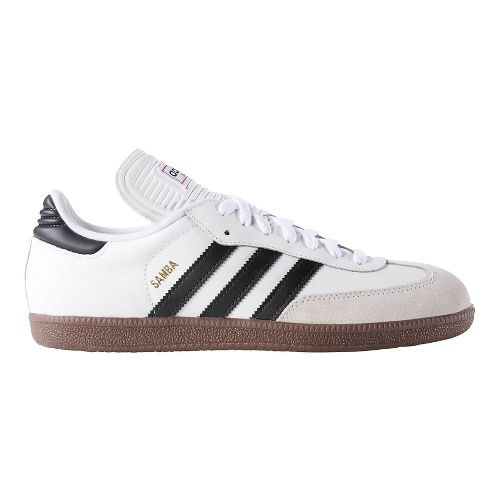 Mens adidas Samba Classic Casual Shoe - White/Black 10.5