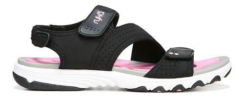 Womens Ryka Dominica Sandals Shoe - Black/Pink 9